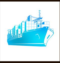 ship vector image vector image