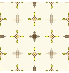 Textile design line seamless pattern geometric vector