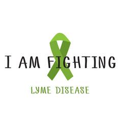 stop lyme disease vector image