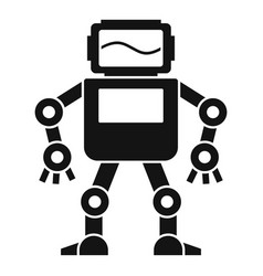 automatic mechanism icon simple style vector image