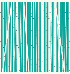 Birch grove background against the blue sky vector