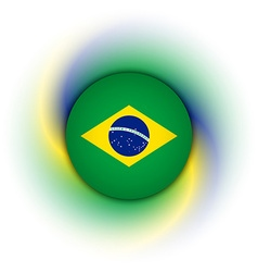 Brazilian background vector image