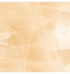 Abstract Orange Polygonal Background vector image