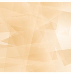 Abstract orange polygonal background vector