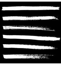 Ink brush strokes background vector