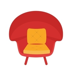 Stylish chair vector