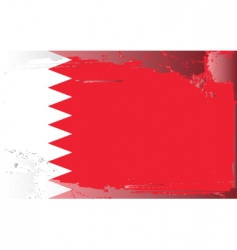 Bahrain national flag vector
