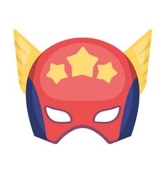 Helmet single icon in cartoon stylehelmet vector