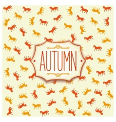 Label design for autumn season 2014 vector