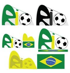 Rio de Janeiro graphic vector image