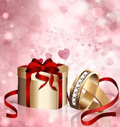 Concept of wedding engagement vector