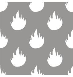 Fire seamless pattern vector