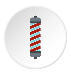 Hair curler icon circle vector