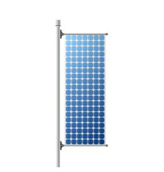 solar panel construction vector image