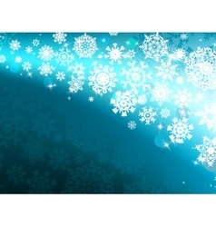 Winter background with lights eps 8 vector
