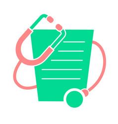 Icon doctors day vector