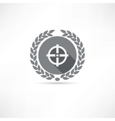 Sight icon vector