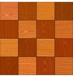 Seamless oak square chess like parquet texture vector