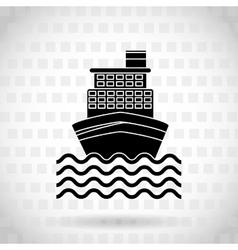 Marine icon design vector