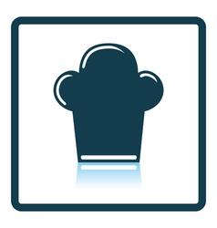 Chief cap icon vector