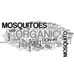 Athose nasty mosquitoes text word cloud concept vector