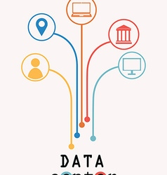 Data center tree vector