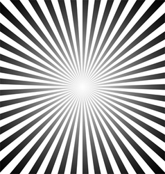 Sunburst pattern vector image vector image
