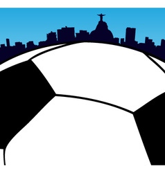 World Cup in Rio vector image vector image