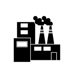 Plant of industry and factory concept vector