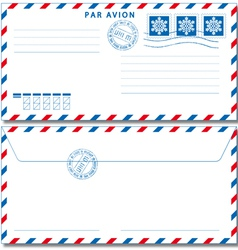 Airmail envelope eps10 vector