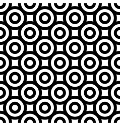 Polka dot geometric seamless pattern 7006 vector image vector image