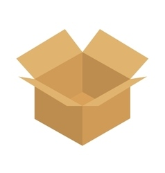 Carton box package delivery icon graphic vector