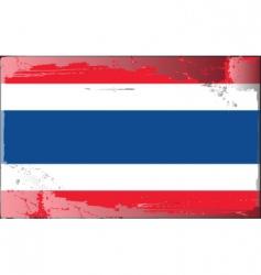thailand national flag vector image
