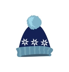 Set Winter Hat vector image