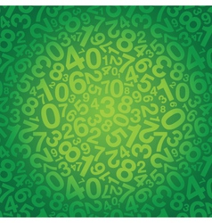 Number background small vector