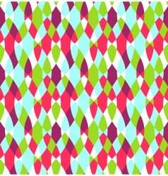 Seamless Bright Abstract Stained Glass Pattern vector image