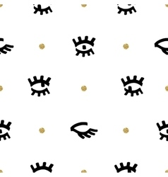 Trendy fashion seamless pattern comic sketch vector