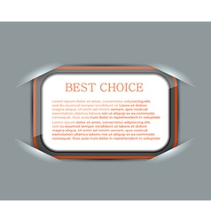 Slotted Rounded Rectangle Frames vector image