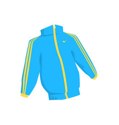 sport jacket cartoon vector image