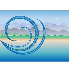 Way of the wind vector