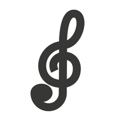 Music note isolated icon design vector
