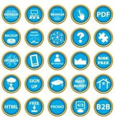 Big web icon set vector image vector image