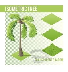 Isometric tree 004 vector