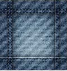 jeans frame vector image