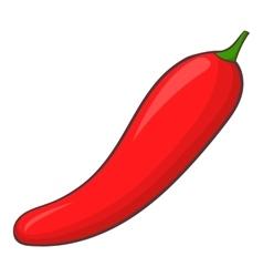 Pepper icon cartoon style vector