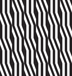 Seamless pattern Abstract striped texture of black vector image