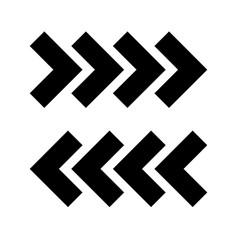 traffic arrows vector image vector image