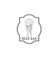 Vintage beer festival emblems vector image