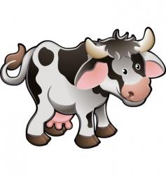 dairy cow vector image