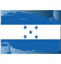 Honduras national flag vector